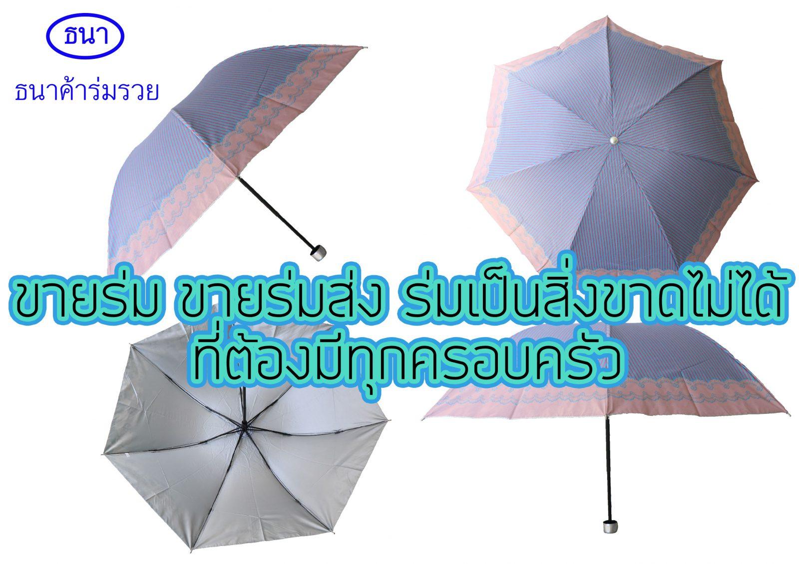 ขายร่ม ขายร่มส่ง ร่มเป็นสิ่งขาดไม่ได้ ที่ต้องมีทุกครอบครัว